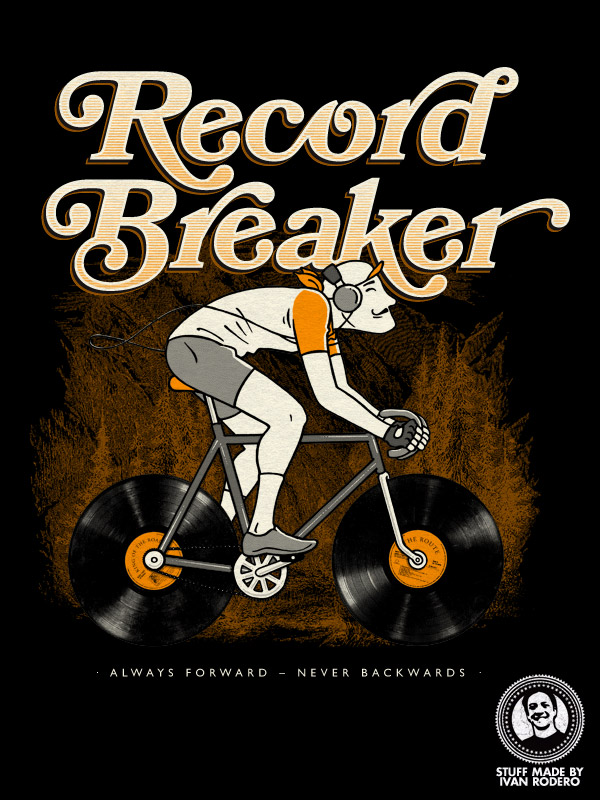 Record Breaker, an illustration by Ivan Rodero